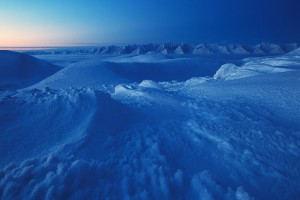 glacier wallpaper blue