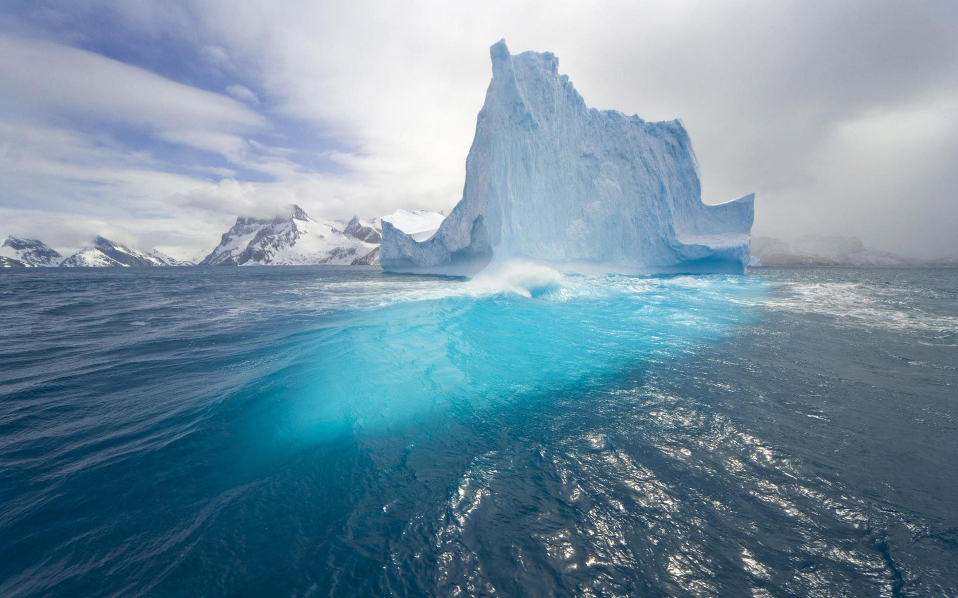 glacier wallpaper snow