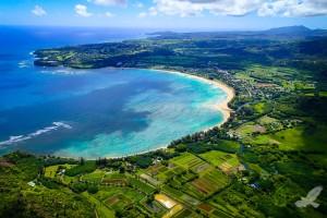 hanalei bay hawaii island