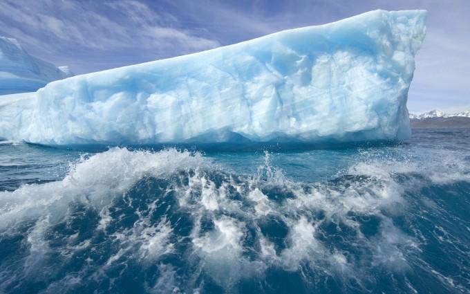 iceberg wallpaper ocean