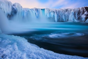 iceland wallpaper waterfall godafoss