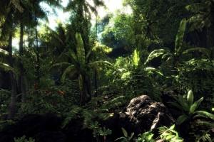 jungle wallpaper A4