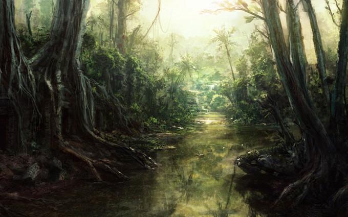 jungle wallpaper A7