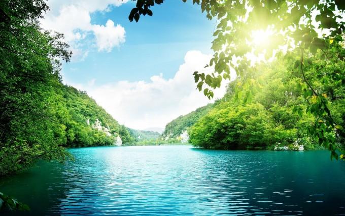 lagoon river green