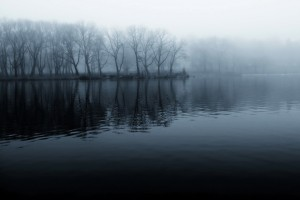 lake pictures mist cool