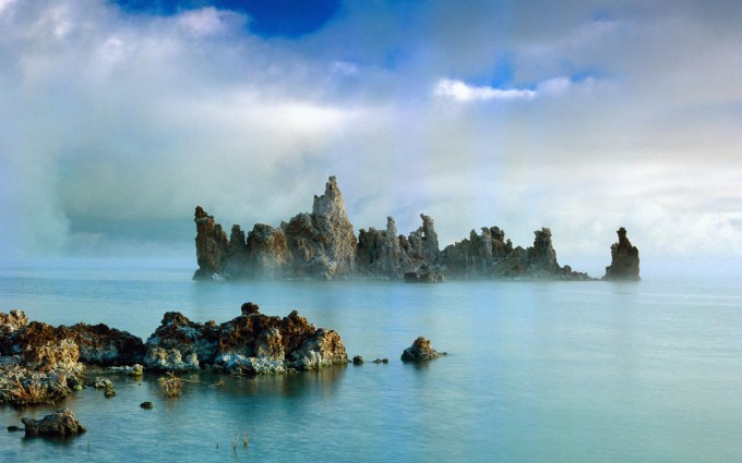 lake pictures mist hd