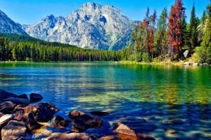 lake wallpaper landscape
