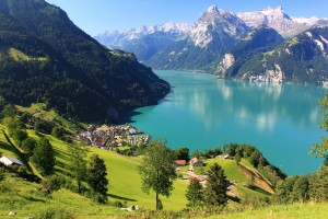 lake wallpaper lucerne