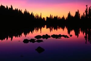 lake wallpaper purple