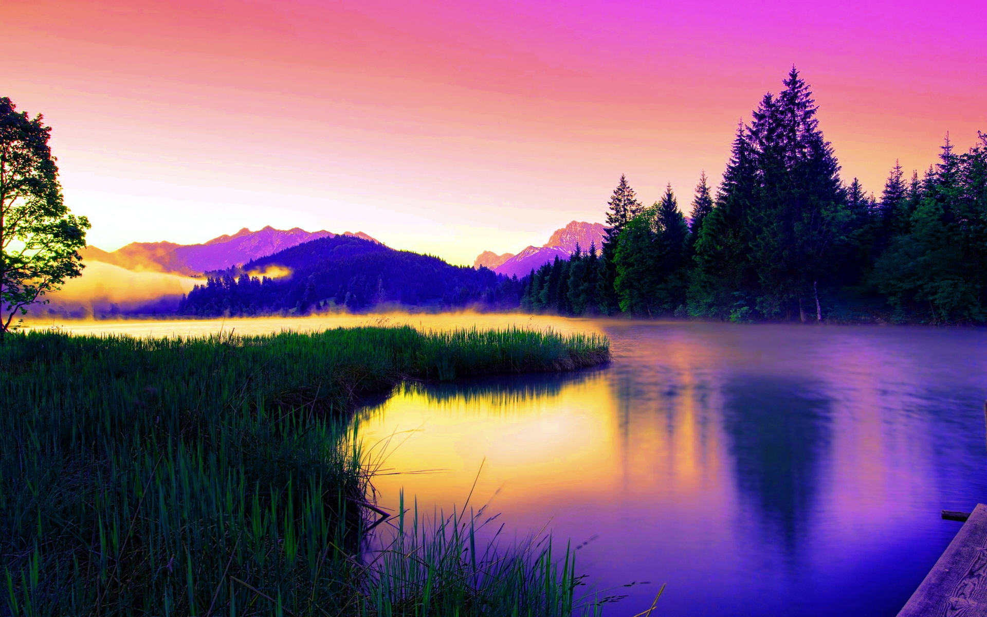 lake wallpaper splendid