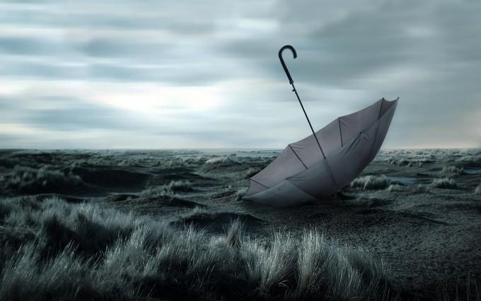 landscape photography umbrella