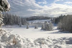 landscape winter amazing