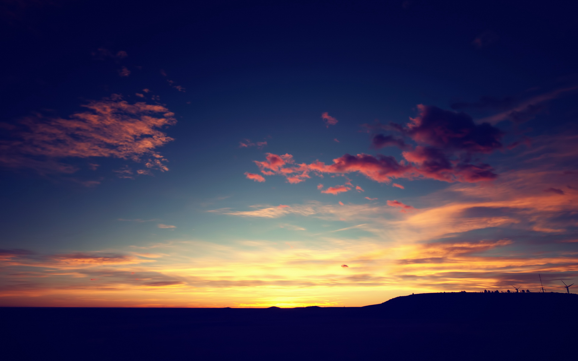 lomo wallpaper sunset