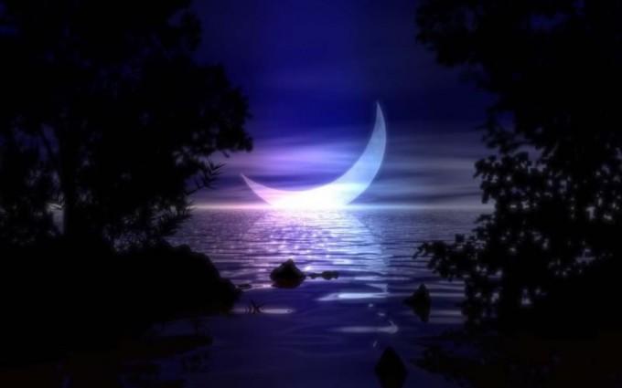 moon night wallpaper