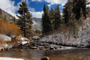 mountain background streams hd
