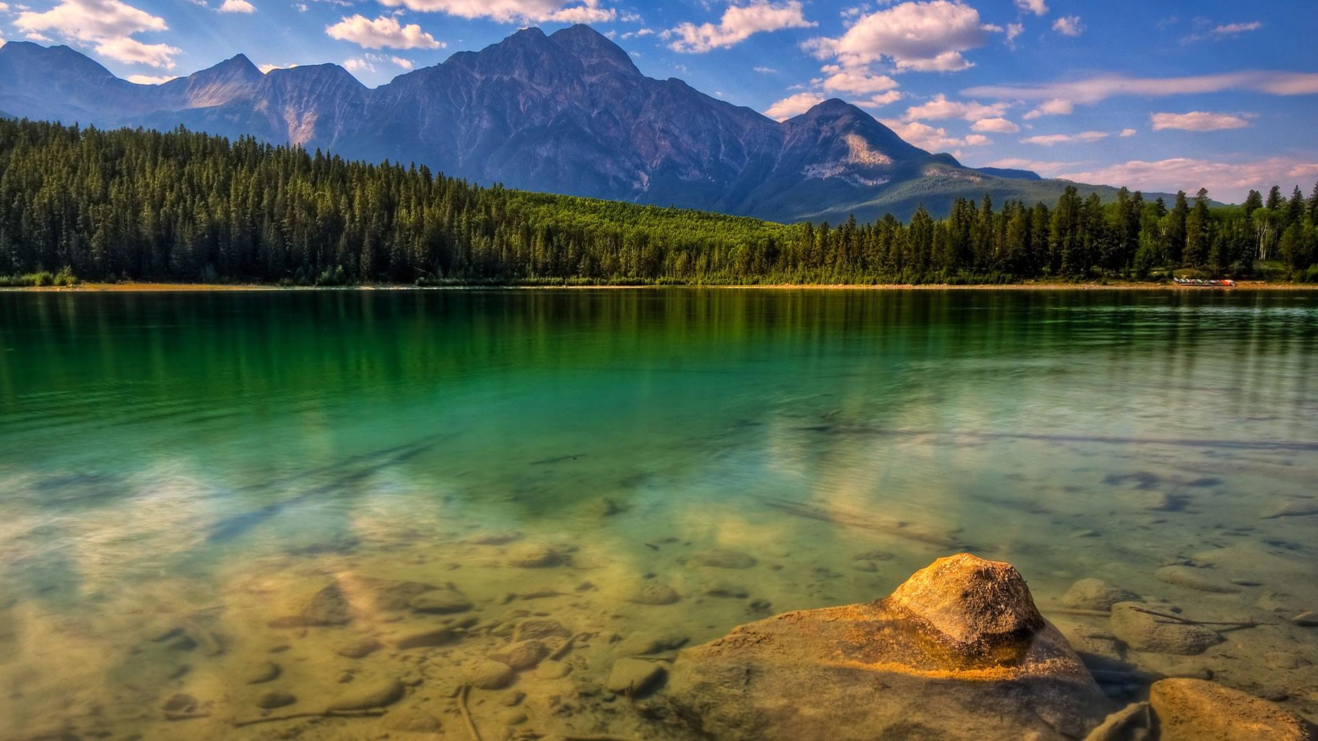 mountain images lake