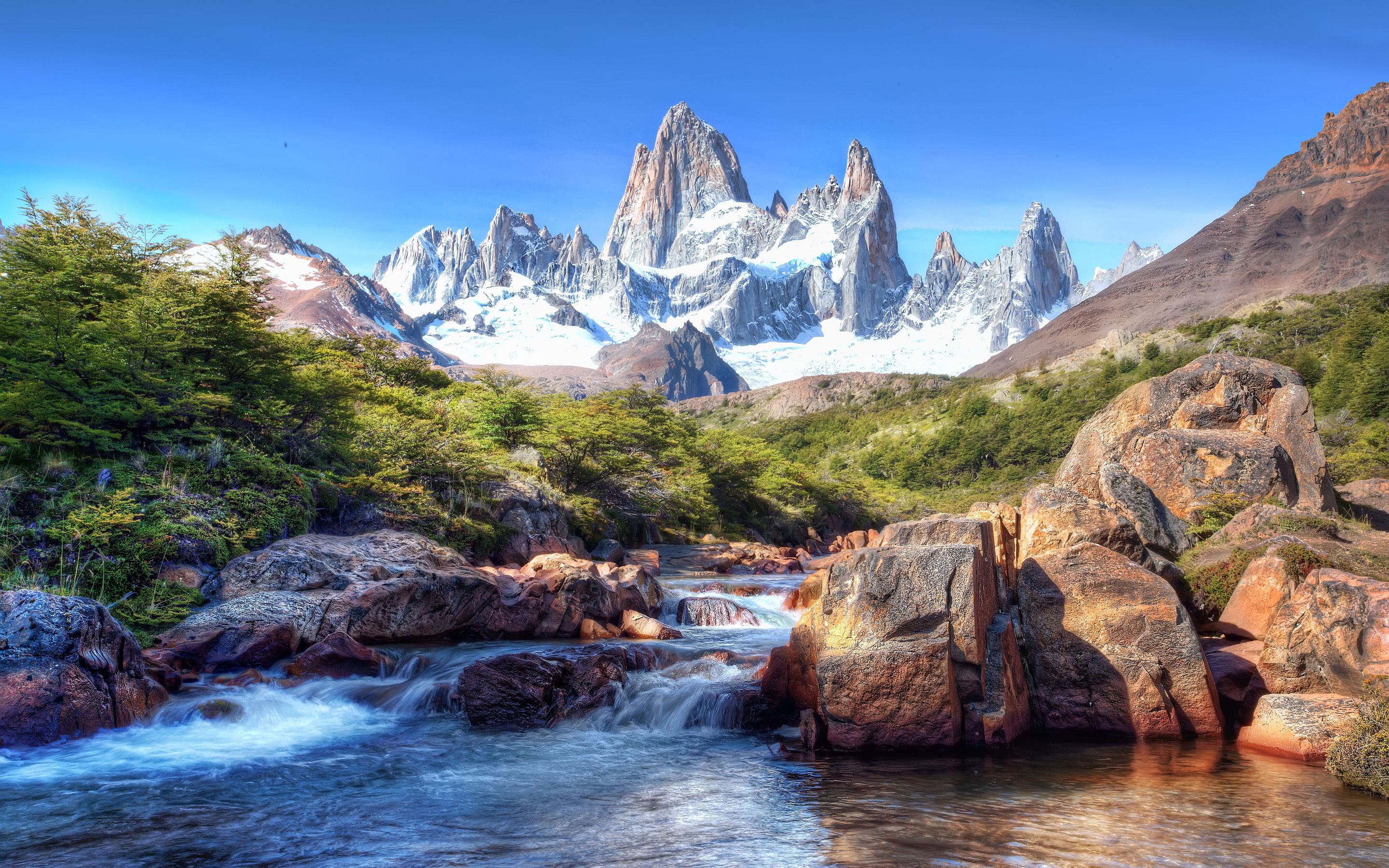 mountain wallpaper patagonia