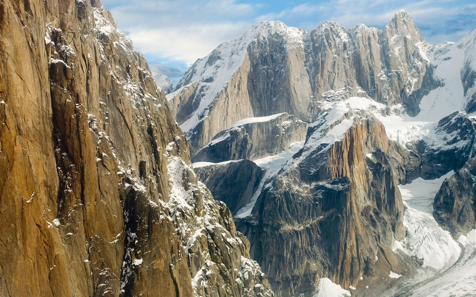 mountain wallpaper snowy winter