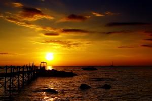 nature backgrounds sunset