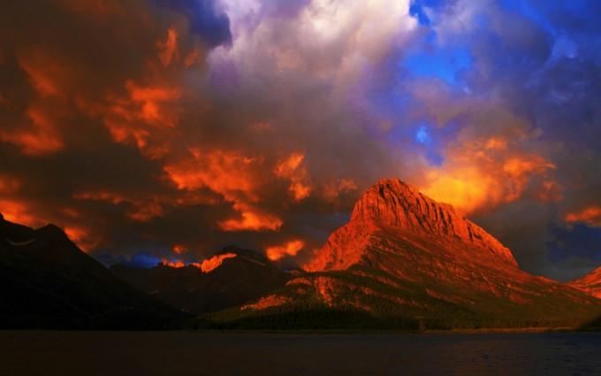 nature sunset