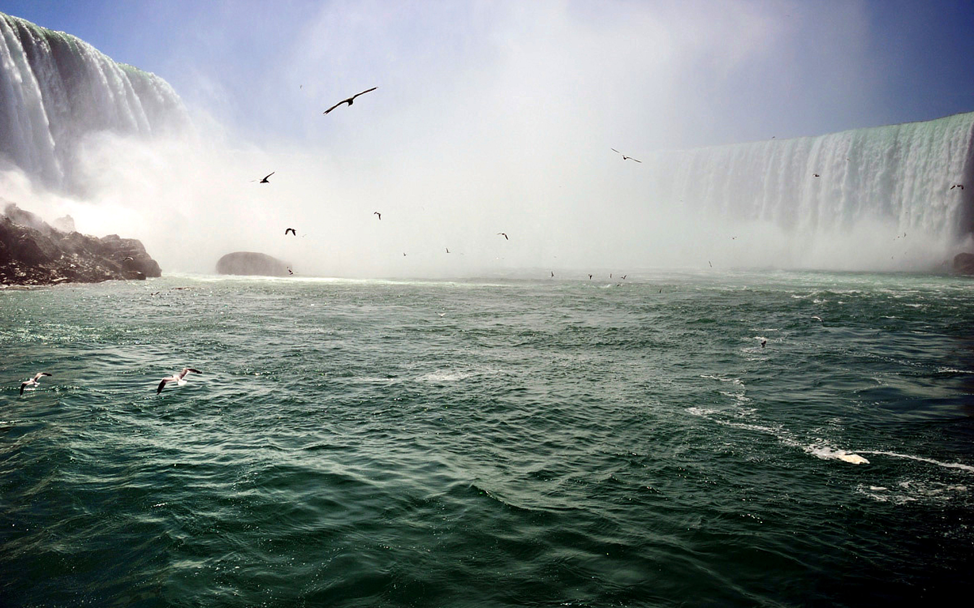 Niagara Falls Wide Desktop Background