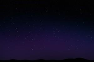 night sky wallpaper computer