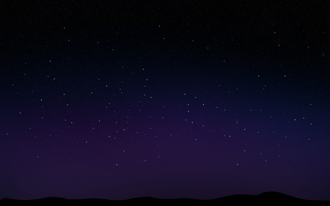 night sky wallpaper computer