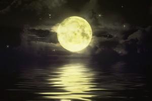 night sky wallpaper moon