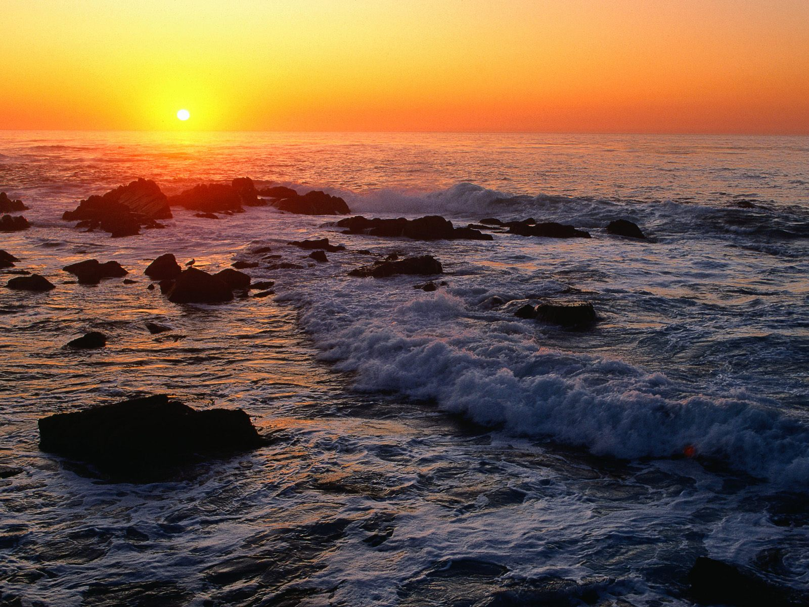 ocean sunset wallpapers