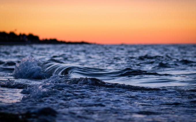 ocean sunsets wallpaper
