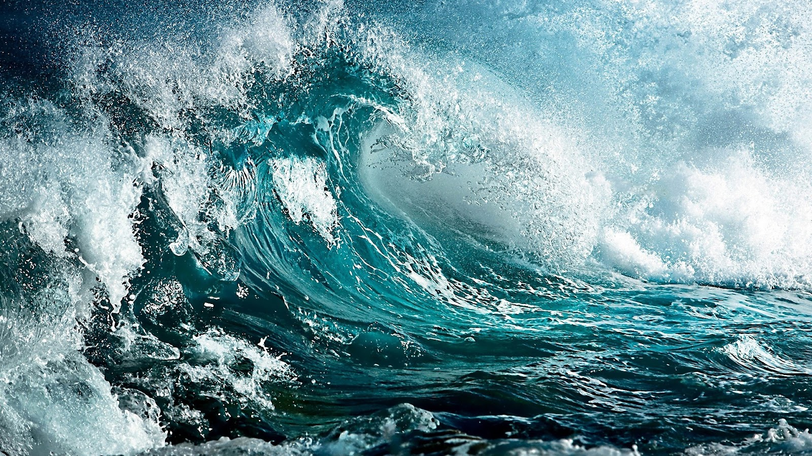 ocean waves cool hd