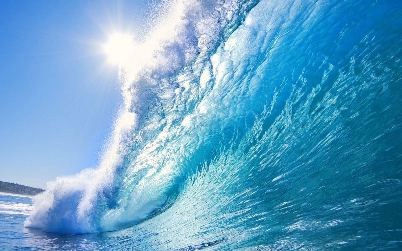 ocean waves wallpaper nature
