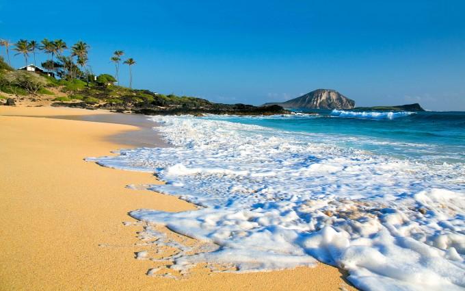 ohau beach hawaii