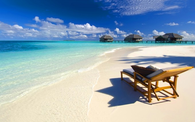 paradise beach maldives