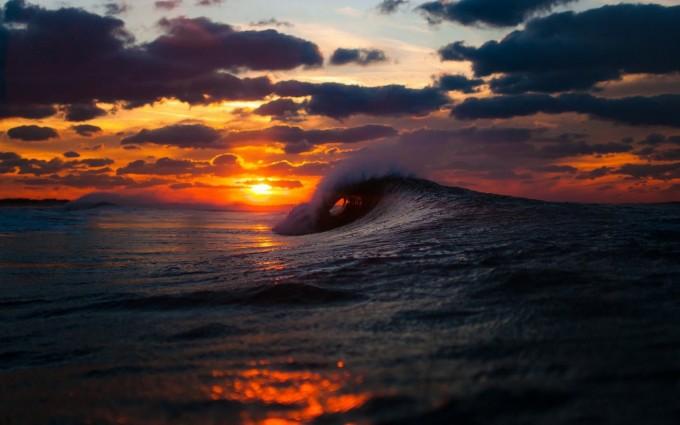 perfect sunset wallpaper