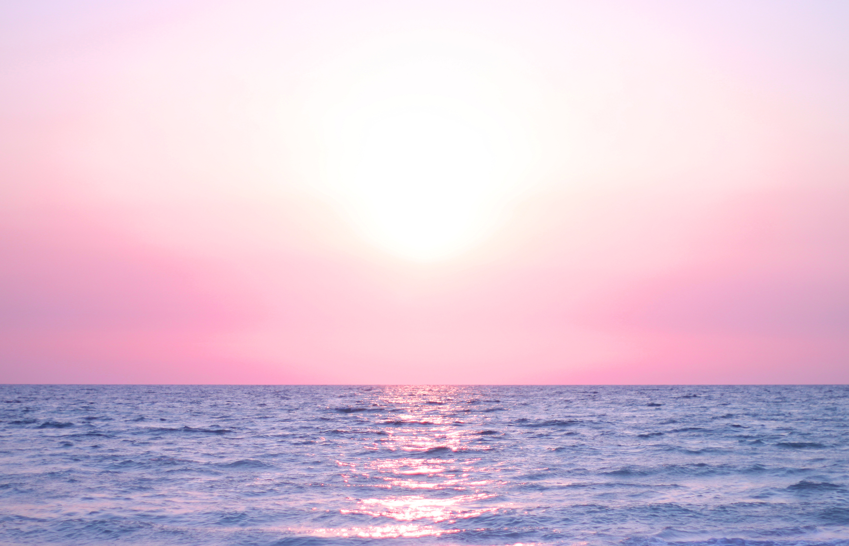 Beach Sunrise 4k Hd Desktop Wallpaper For 4k Ultra Hd Tv: Pink Sunrise - HD Desktop Wallpapers