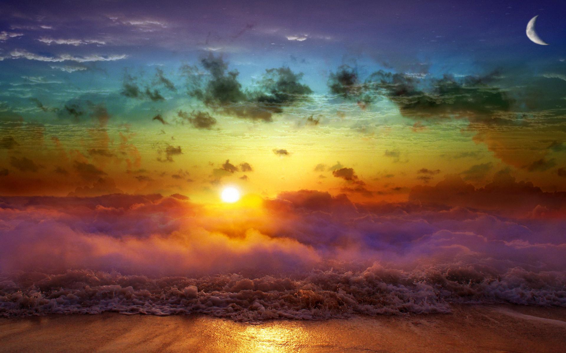rainbow art