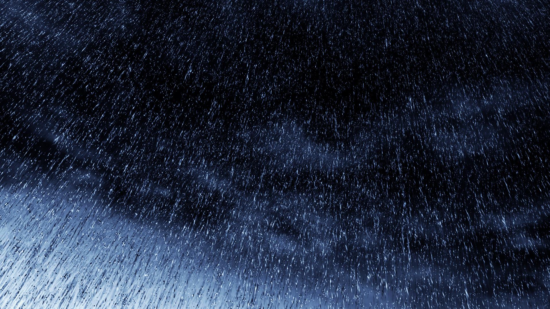 rainfall blue wallpaper