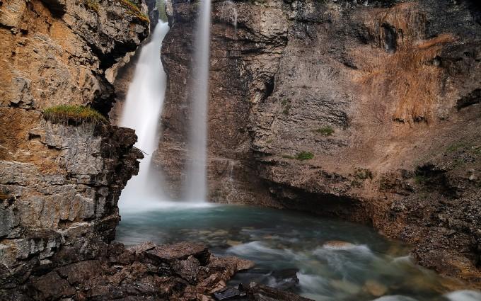 river wallpaper rock