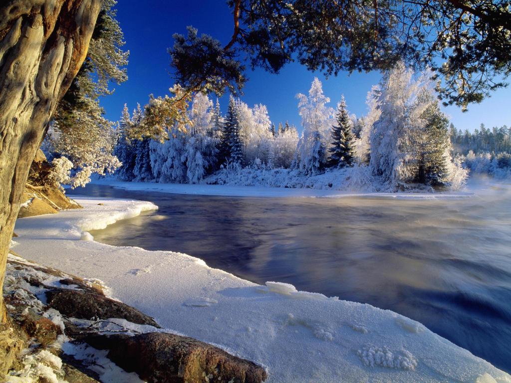 Dal River in Dalarna. Sweden