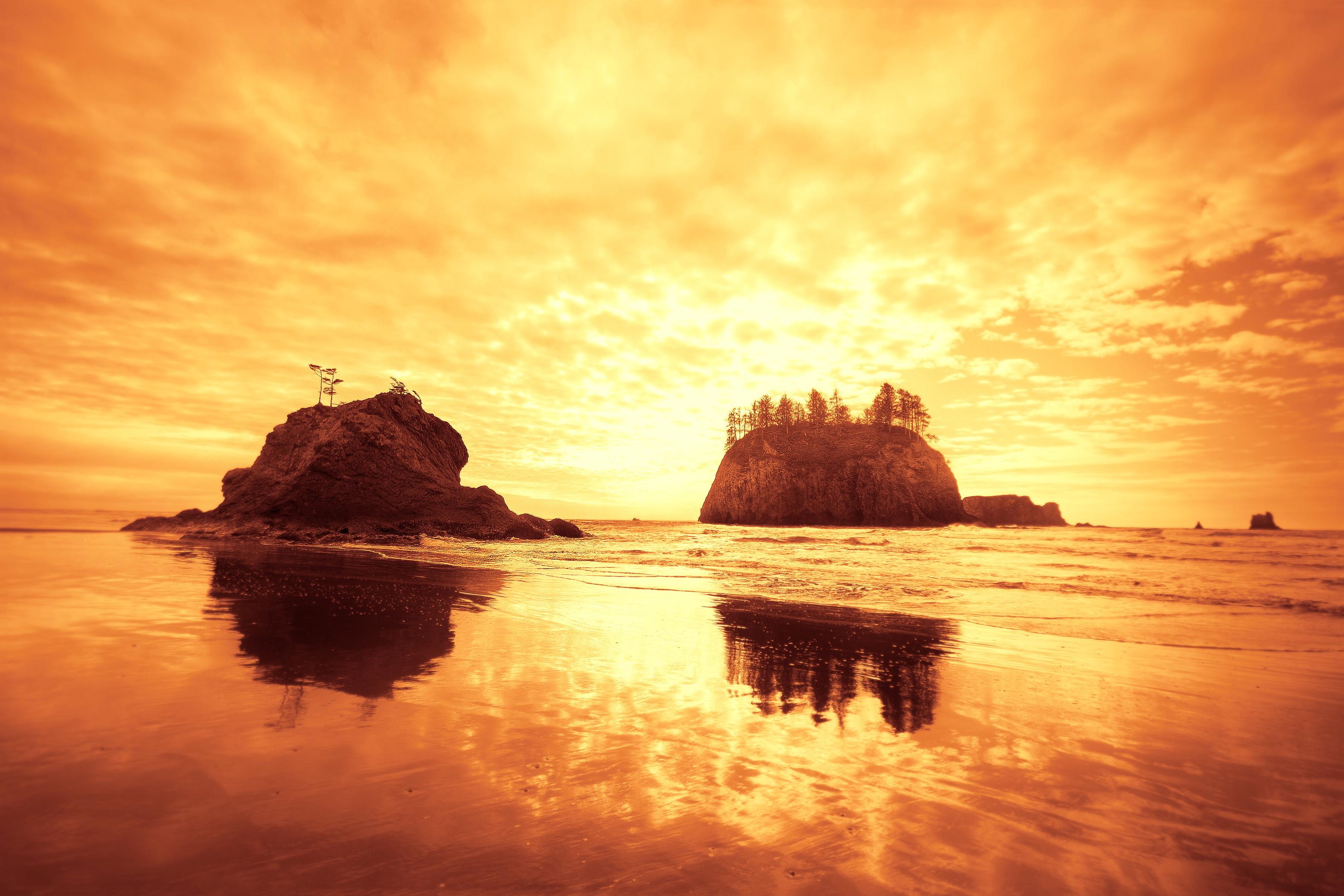rock wallpaper ocean