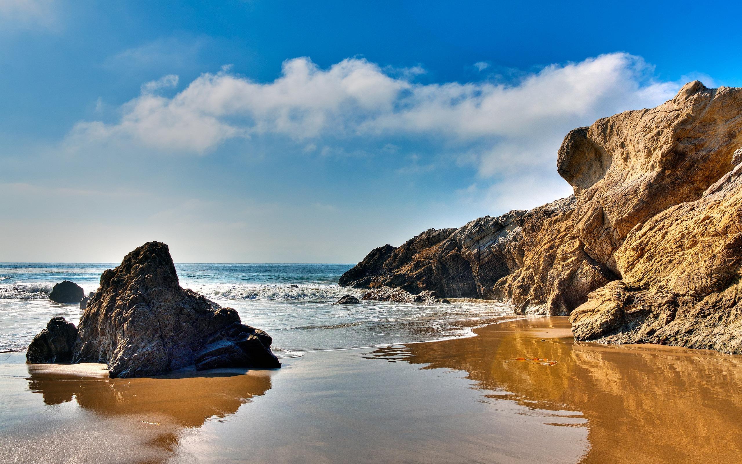 sand beach malibu
