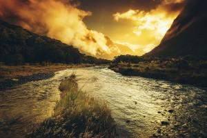 scenery river nature