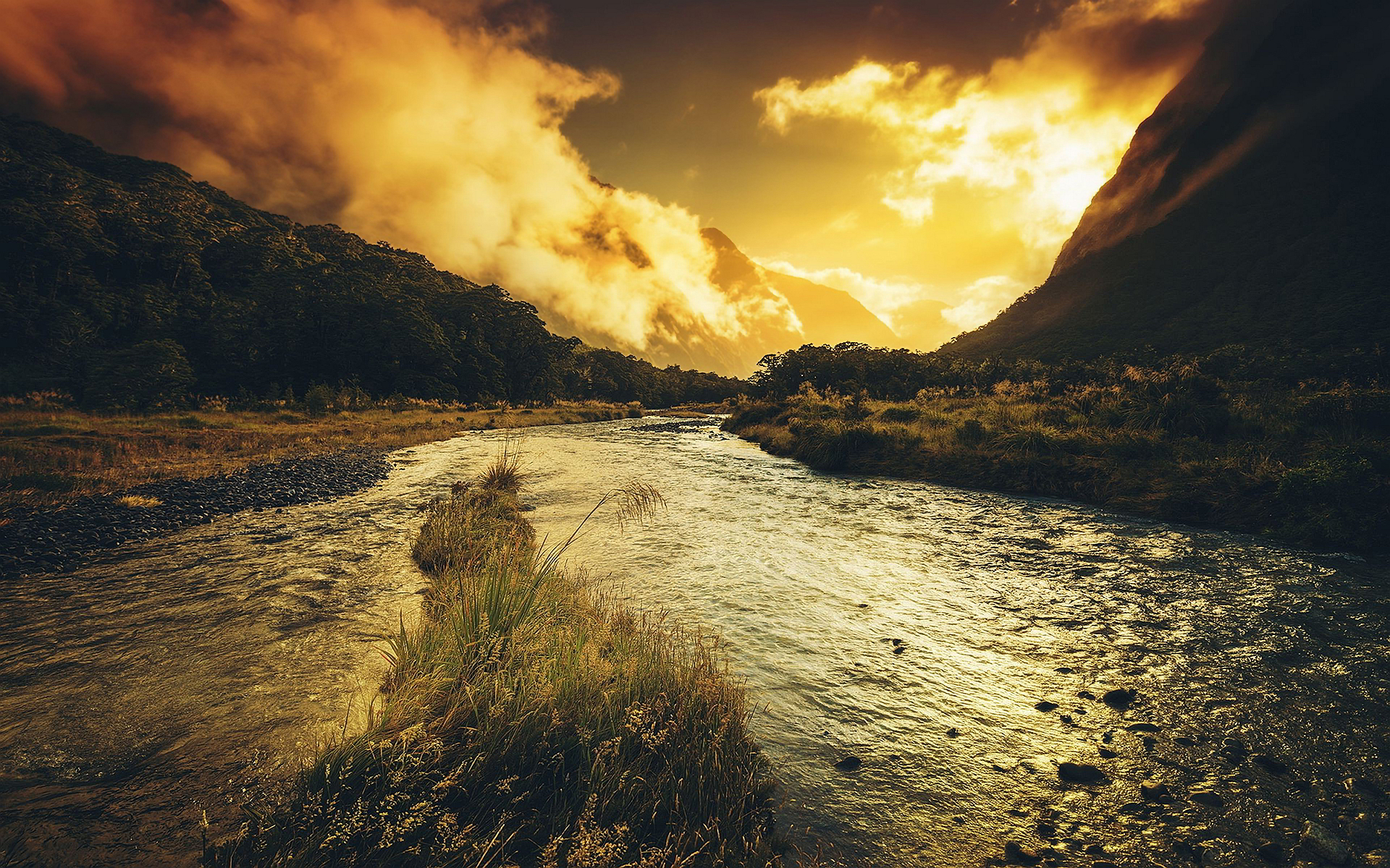 scenery river nature hd desktop wallpapers