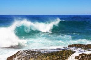 sea waves landscape