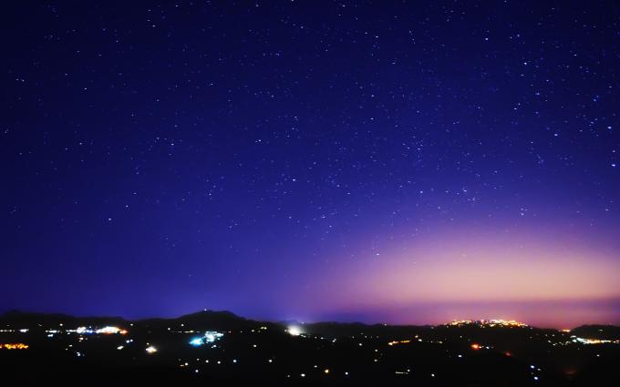 sky at night wallpaper