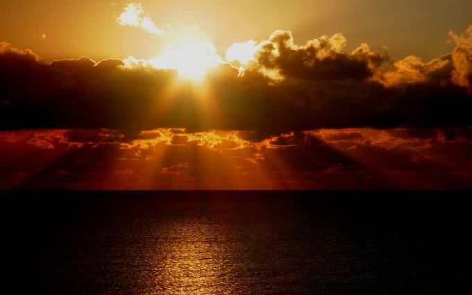 sunrise wallpaper beach