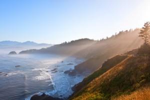sunrise wallpaper beach mountain