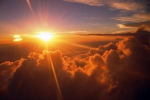 sunrise wallpaper clouds