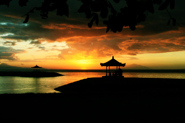 sunrise wallpaper lake